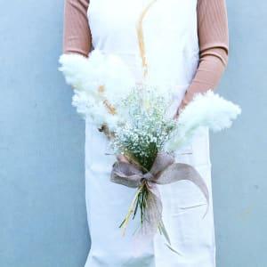 Gatsby Dried Bridal Bouquet