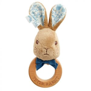 Peter Wooden Ring Rattle