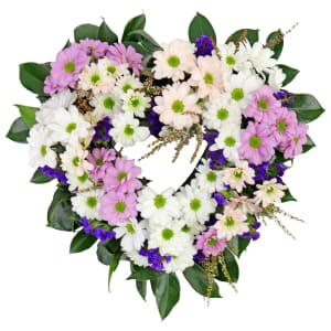 Sweet Heart Wreath