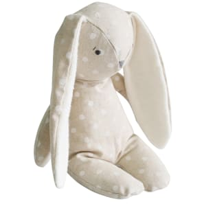 Floppy Linen Bunny