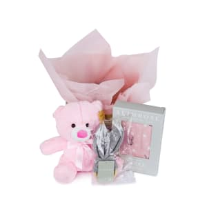 Hello Baby Hatbox - Pink