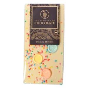White Fizz Chocolate 100g