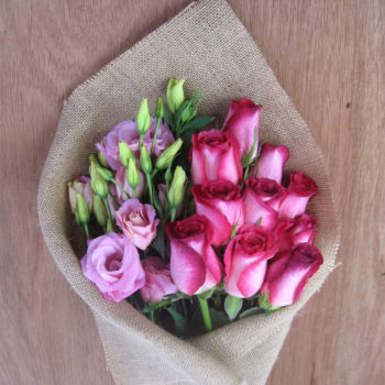 Rose & Lisianthus Subscription
