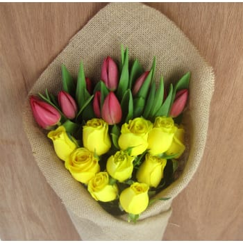 Roses and Tulips Subscription