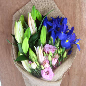 Lilies, Lisianthus & Iris
