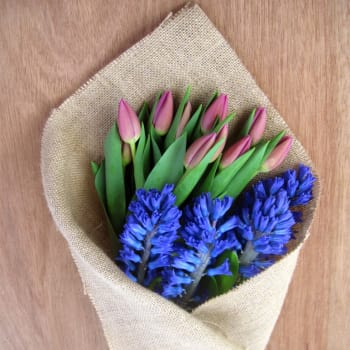 Tulips & Hyacinth Subscription