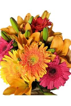 Fun, Bright Bouquet - Standard