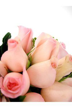 Pink Rose Vase - Standard