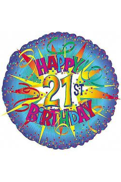 21st Birthday - Standard