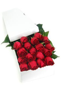 Valentine's 18 Elegant Roses - 18 Roses