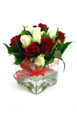 Valentine's Rose Vase - Standard
