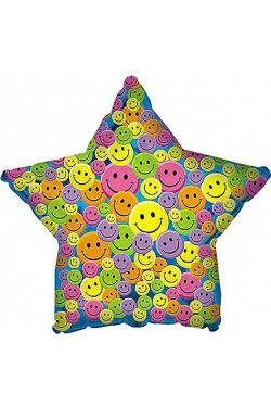 Smiley Face Star - Standard