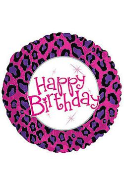 Happy Birthday - Animal Print - Standard