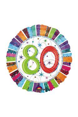 80th Birthday - Standard
