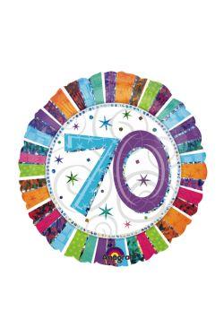 70th Birthday Balloon - Standard