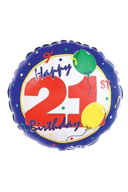 Happy 21st - Standard