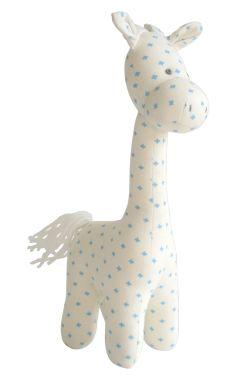 Charlie Giraffe - Blue - Standard