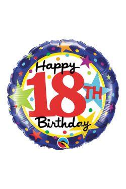 Happy 18th Birthday - Standard