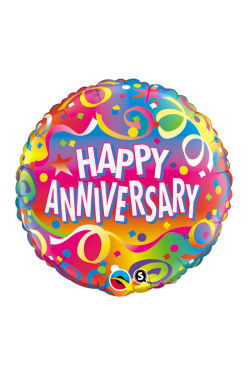 Happy Anniversary Balloon - Standard