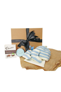 Sweetest Baby - Blue Stripe - Standard