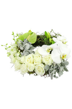 Pure Of Heart Wreath - Standard