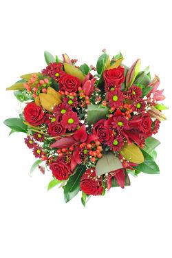 Full Of Love Wreath - Standard
