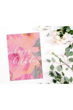 Happy Birthday - Velvetine - Standard