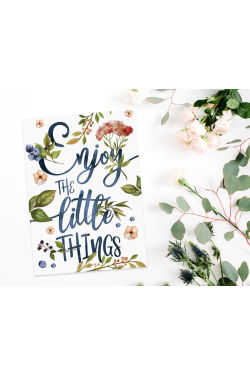 Enjoy The Little Things - Standard