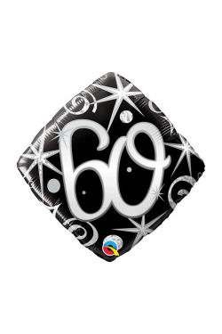 60 Black Diamond Shape - Standard