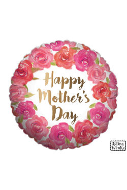 Happy Mothers Day - Gold - Standard