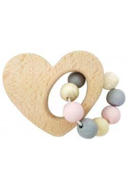 Hess-Spielzeug Heart Rattle - Standard
