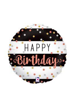 Happy Birthday - Holographic - Standard