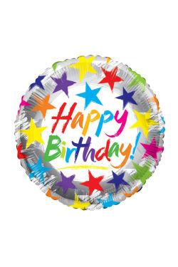 Happy Birthday Stars - Standard