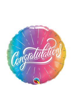 Congratulation Bright Ombre - Standard