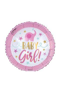 Baby Girl! - Pink Elephant - Standard