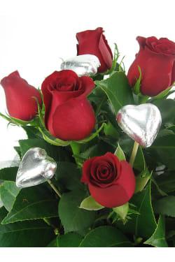 Rose and Chocolate Box - Standard