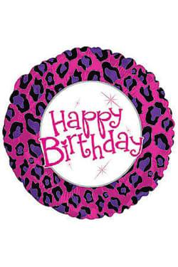 Happy Birthday - Animal Print - Standard