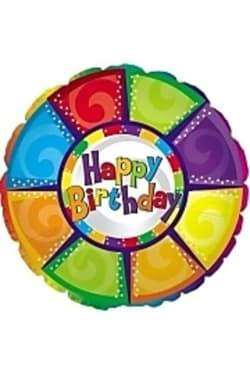 Happy Birthday - colourful - Standard