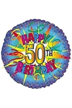 50th Birthday - Standard