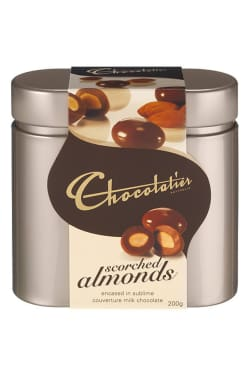 Scorched Almonds in Tin - Standard