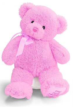 My First Teddy Pink (Medium) - Standard