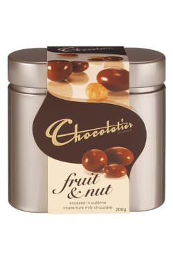 Fruit and Nut chocolate in tin - Standard