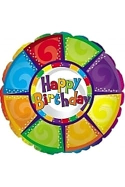 Happy Birthday - colourful - Standard