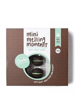 Choc 'Noir' mint cookies - Standard