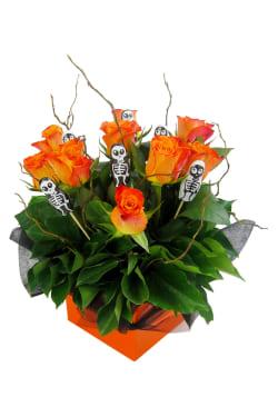 Skeleton Rose box - Standard