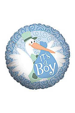 Baby Boy - Stork  - Standard