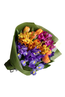 Field Of Flowers Posy - Standard