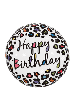 Happy Birthday - Safari - Standard