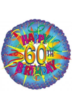 60th Birthday - Standard