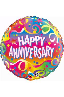 Happy Anniversary - Confetti - Standard